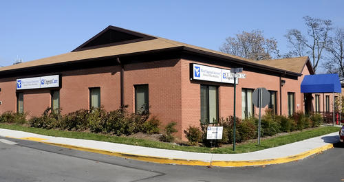 WVU Urgent Care is at the corner of East Fourth Avenue and South Preston Street in Ranson, W.Va.