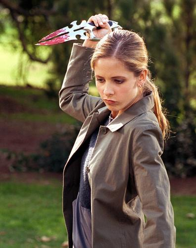Though she possesses an arsenal of stakes, daggers and other weapons, Buffy has had only tragic experiences with guns and would likely support strict gun control policies. Also, the Slayer's best friend, Willow, is gay, so the rights of LGBT citizens would be at the front of her mind. It make sense that Obama would get her vote.