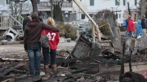 Food for Thought Question: What advice you would give a New Yorker struggling with Sandy?