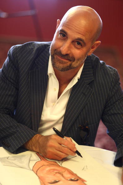 Role model to bald guys everywhere, Stanley Tucci is 51.