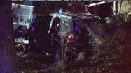 Teen injured when SUV drives into house
