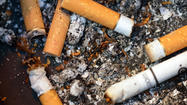 One in five smokers lights up while hospitalized