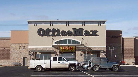 Sales at office suppliers have suffered as corporate customers and other shoppers cut back on discretionary spending.