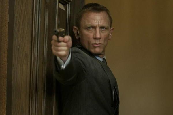 """Daniel Craig plays James Bond in """"Skyfall."""""""