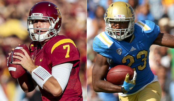 Matt Barkley and the Trojans will take on Johnathan Franklin and the Bruins on Nov. 17 at the Rose Bowl.