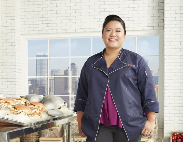 "Bar Pastoral chef Chrissy Camba appears on ""Top Chef: Seattle."""