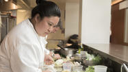 Chicago's Chrissy Camba in 'Top Chef: Seattle""