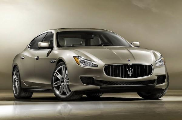 The 2014 Maserati Quattroporte sedan will be officially unveiled at the 2013 Detroit Auto Show in January.