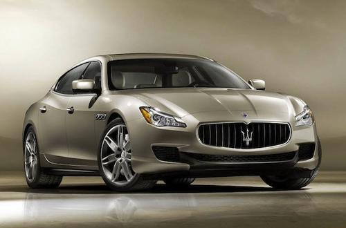 The 2014 Maserati Quattroporte will be officially unveiled at the 2013 Detroit Auto Show in January.