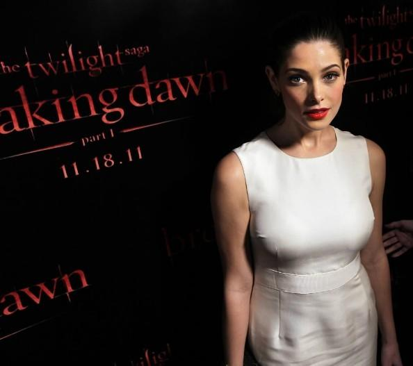 "Ashley Greene promotes ""Twilight: Breaking Dawn - Part 1"" at the House of Blues November 8, 2011."