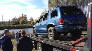 Police pull stolen vehicle from Danville pond
