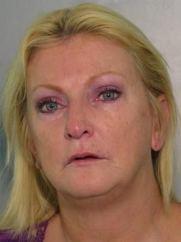 "Accused of hiding crack coke under her dentures. Charge: Possession of Crack Cocaine and Possession of Drug Paraphernalia   <br /> <br /> <a href=""http://www.sun-sentinel.com/news/strange/floriduh-blog/sfl-dentures-20121105,0,3410330.story"">Read More</a>"