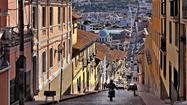Sights and scenes around Quito, Ecuador