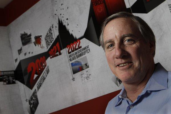 THQ, led by Chief Executive Brian Farrell, lost half its stock value Tuesday.