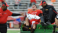 Three Saturdays ago, Randy Edsall walked from the sideline out to the field to find Perry Hills, his starting quarterback, being carefully lifted onto a cart, his eyes closed in pain after tearing the anterior cruciate ligament in his left knee.