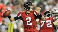 <strong>1. Falcons (2 last week):</strong> Matt Ryan is stringing together good performance after good performance. And the Falcons don't lose when Ryan is on.