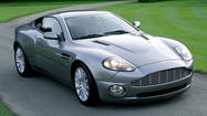 "2002 Aston Martin V12 Vanquish in ""Die Another Day,"" $77,130"