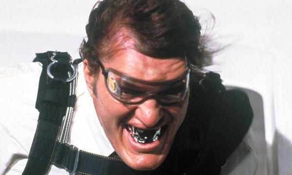 "<b>Appearances:</b> Jaws, played by 7' 2"" actor Richard Kiel, made his first appearance in 1977's ""The Spy Who Loved Me."" Kiel reprised the role for ""Moonraker"" in 1979.