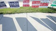 In Carroll County, voters warm up to a cool election day