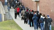 Voters across Maryland reported overflow crowds and hours-long waits Tuesday as a close presidential contest and controversial state ballot questions drew people to the polls.
