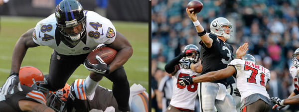 The Ravens offense will have to find a rhythm if they hope to beat the Raiders this week.