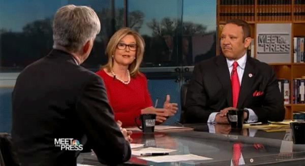 "A roundtable discussion from a 2011 episode of ""Meet the Press."""