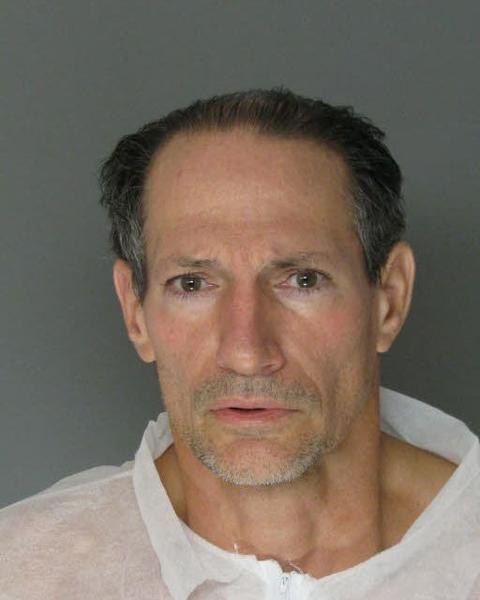 The booking photo for John Falkenstein Jr.
