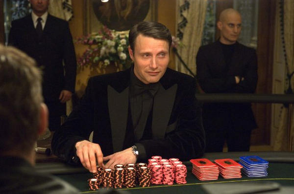 "<b>Appearances:</b> Mads Mikkelsen played the sinister banker in the 2006 version of ""Casino Royale.""
