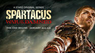 'Spartacus: War of the Damned' enters arena Jan. 25