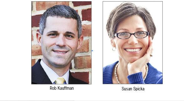 Rob Kauffman and Susan Spicka