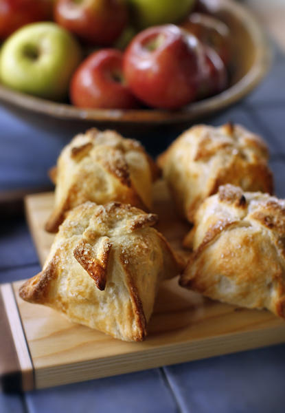 Apple dumplings are a small purse of warm goodness that allows you to get your apple a day.
