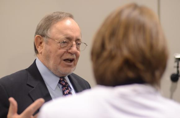 Rep. Don Young at Election Central