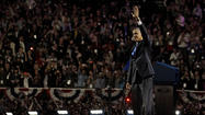 WASHINGTON (AP) - President Barack Obama rolled to re-election Tuesday night, vanquishing former Massachusetts Gov. Mitt Romney despite a weak economy that plagued his first term and put a crimp in the middle class dreams of millions. In victory, he confidently promised better days ahead.