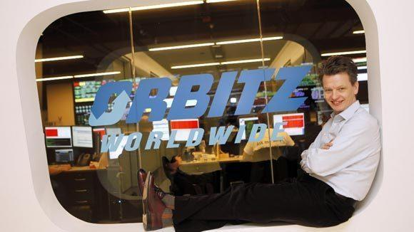 Orbitz CEO Barney Harford at the travel company's downtown headquarters. (Michael Tercha/Tribune file photo)