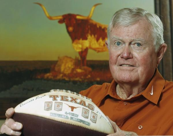Darrell Royal in 2007