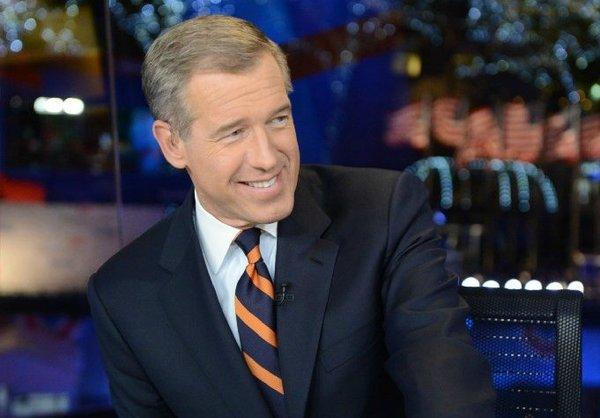 NBC's Brian Williams calling election night results.