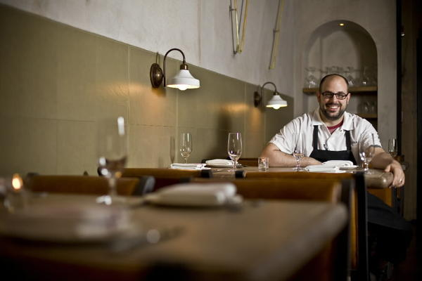 Chef Chris Pandel of Balena is a recipient of a Bib Gourmand from the 2013 Chicago Michelin Guide.
