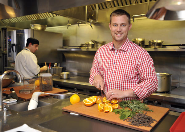 "Maryland restaurant owner and ""Top Chef"" Season 6 finalist Bryan Voltaggio."