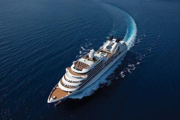 The Seabourn Quest offers a small-ship experience during a round-the-world trip that lasts 116 days.