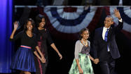 It was one nation under a groove at Barack Obama's victory celebration Tuesday night in Chicago.