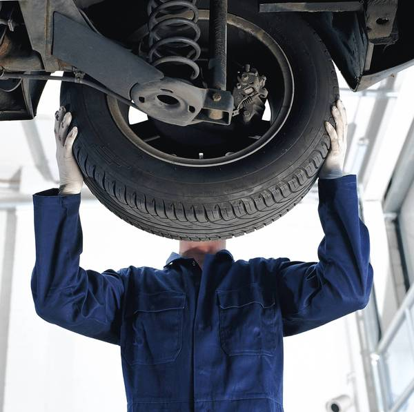 Mechanics change tires and perform other important work on our vehicles to keep them moving safely.