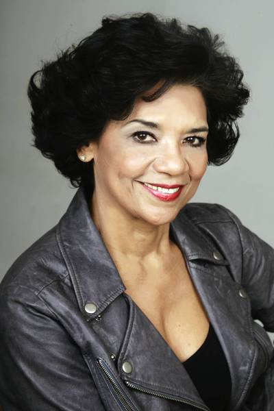 Sonia Manzano, who plays Maria on 'Sesame Street,' talks at the UConn book festival on Nov. 11 about her new book.