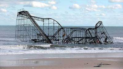 Superstorm Sandy: Tallying the damage at amusement piers