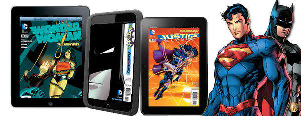 DC Comics is now selling digital copies of its comic books through Apple, Amazon and Barnes & Noble digital stores.