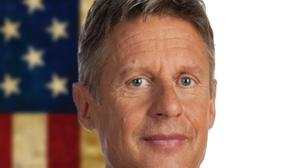 The other candidate -- Gary Johnson -- satisfied with presidential run, mum on future bid for office