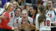 Pictures: 2012 High school volleyball