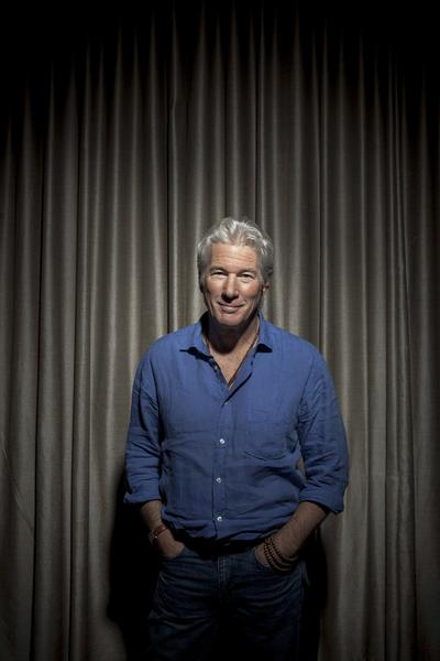 Celebrity portraits by The Times: Golden Globe-winning actor Richard Gere is photographed at the Beverly Hills Hotel. Gere can be seen in the suspense thriller Arbitrage.