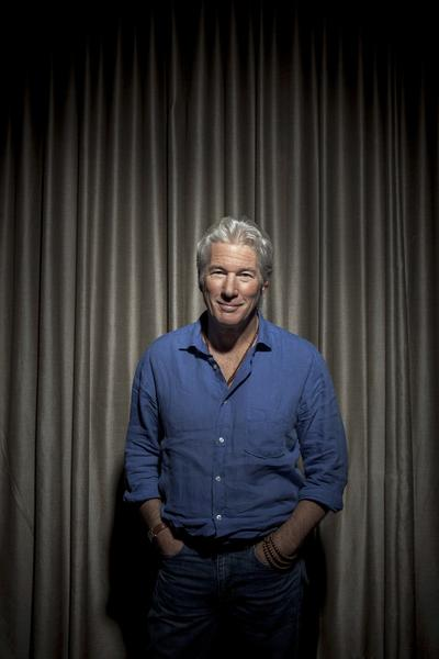 "Golden Globe-winning actor Richard Gere is photographed at the Beverly Hills Hotel. Gere can be seen in the suspense thriller ""Arbitrage."""