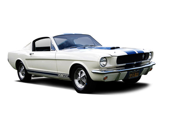 This 1965 Shelby GT350 Fastback was previously owned by Ford Motor Co. and used in its Performance Heritage Tour.