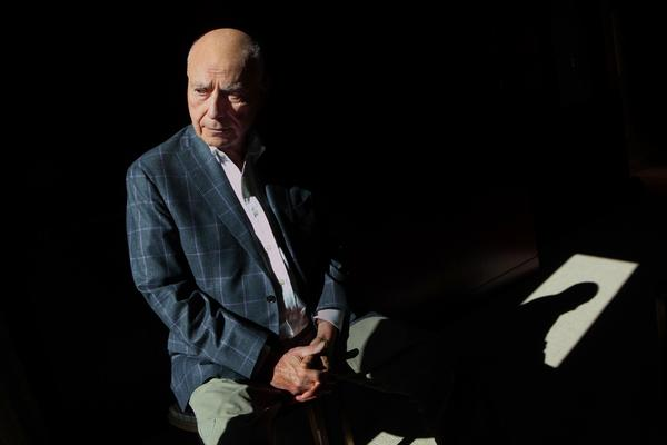 "Alan Arkin, photographed in Toronto, plays a little comic relief in the hostage rescue drama ""Argo,"" starring as a movie producer."